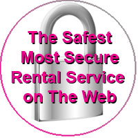 The Most Secure Private Vacation Rental service on the web