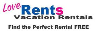 LoveRents Vacation Rentals, Free Rental Service